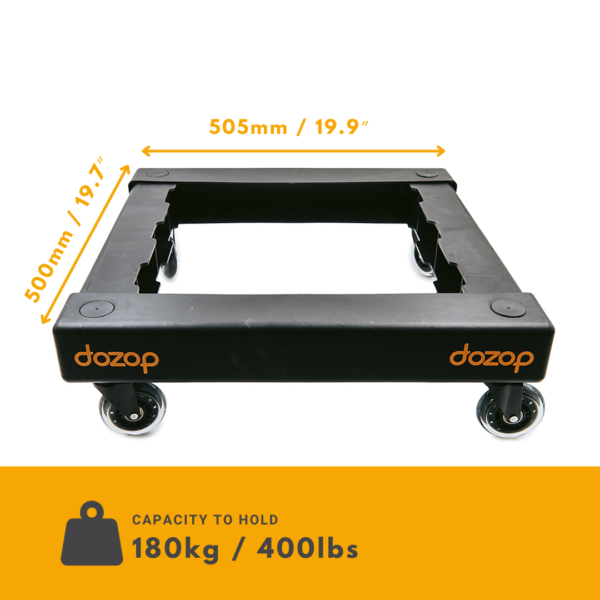 Self-Contained Dolly Pro dimensions