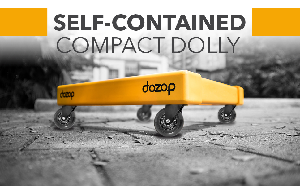 Self Contained dolly casters